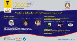 Workshop Developing Online Education 2016  Banner DOED 2016