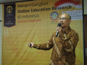 Seminar dan Workshop Mengembangkan Online Education Research di Indonesia