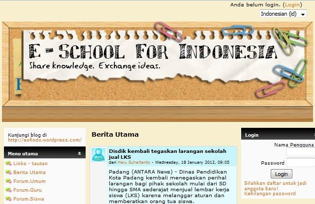 E-School For Indonesia